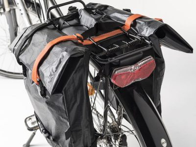 Quadrosdesign - light bicycle bag - orange