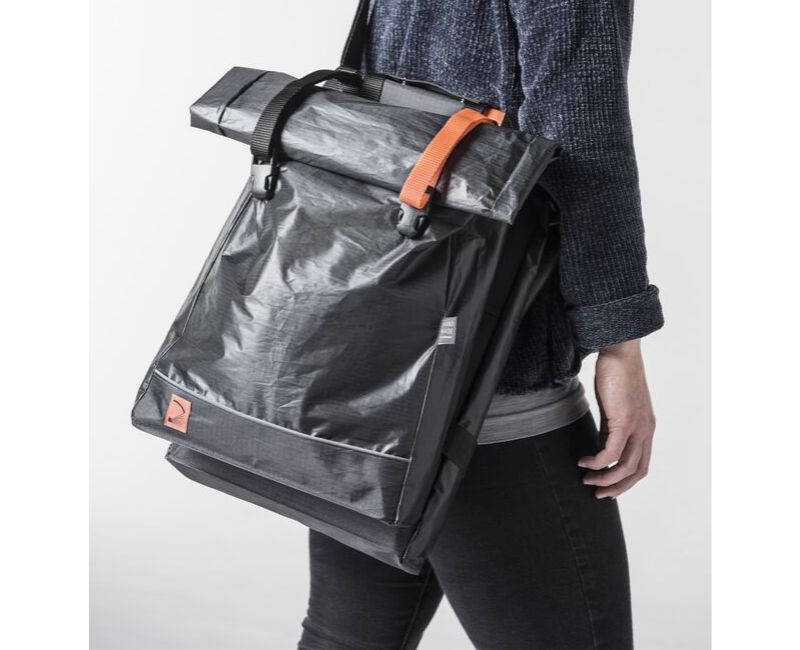 Quadrosdesign - leichte Fahrradtasche - orange