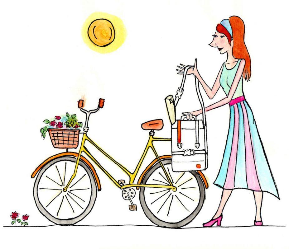 Quadrosdesign - Fahrradtasche - Comic