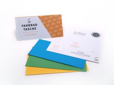 quadrosdesign gift card for the ultra-light bike bag